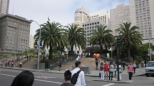 Union Square in San Francisco.