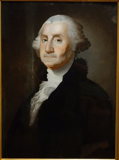 File:George Washington, attributed to Foeiqua (Chinese), c. 1800-1805, reverse painting on glass ...