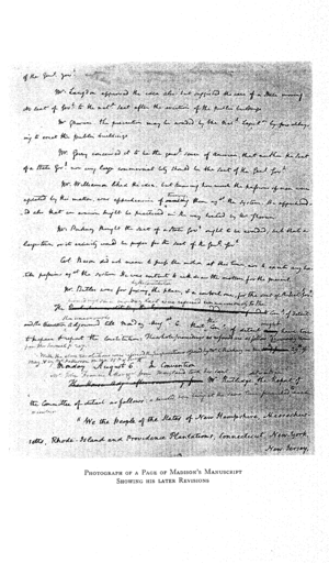 A photograph of a handwritten page of notes ta...