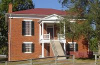 Old Appomattox Court House reconstructed, Virginia