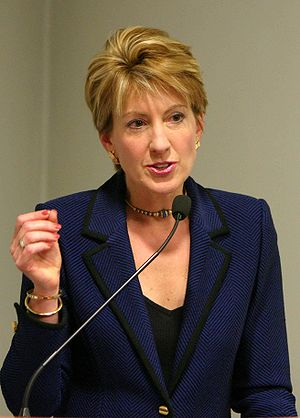 Former CEO of Hewlett-Packard Carly Fiorina