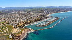 Aerial view of Dana Point