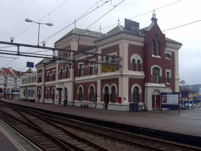 Kristiansand Station - Wikipedia
