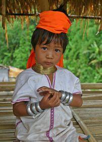 Menina tailandesa