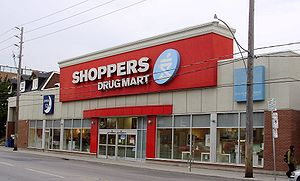 A Shoppers Drug Mart store on Dupont Street in...