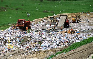 A landfill in Poland