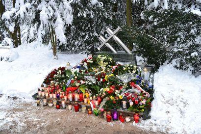 Pomnik Ofiar Katastrofy Promu Jan Heweliusz na Cmentarzu Centralnym w Szczecinie