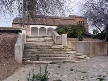 Usanos Iglesia stair