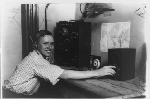 Youthful radio expert