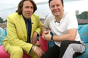 English: Jonathan Ross and Ricky Gervais