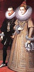 Landvoogden Albrecht en Isabella van Oostenrijk