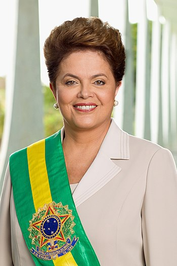 English: Official photo of President Rousseff,...