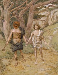 Cain leads Abel to death, by James Tissot.