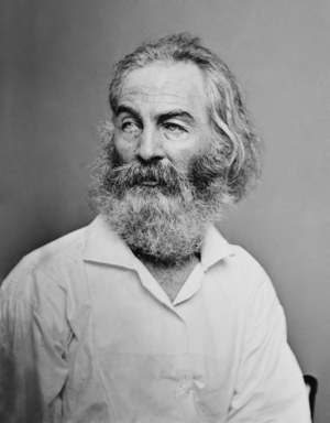 English: Walt Whitman. Library of Congress des...