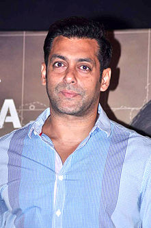 Salman Khan filmography   Wikipedia A photograph of Salman Khan  looking away from the camera