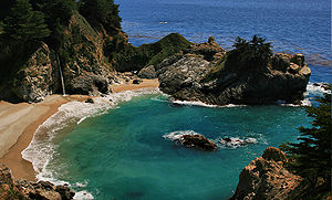McWay Cove at Julia Pfeiffer Burns State Park