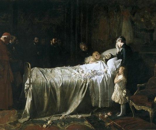 Son reales los fantasmas - Página 4 715px-Muerte_de_Alfonso_XII_o_el_%C3%9Altimo_Beso