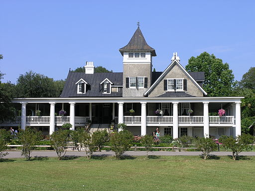 House at Magnolia Plantation