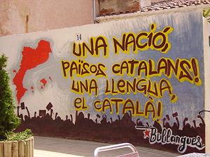 Mural a Vilassar de Mar, El Maresme, Catalunya.