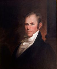 Henry Clay, Chairman of the Select Committee o...