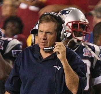 350px Bill Belichick 8 28 09 Patriots vs Redskins Great Quotes VII   Bill Belichick
