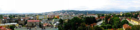 Panorama miasta (widok z Zasania)