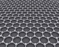 Graphene grid of carbon atoms