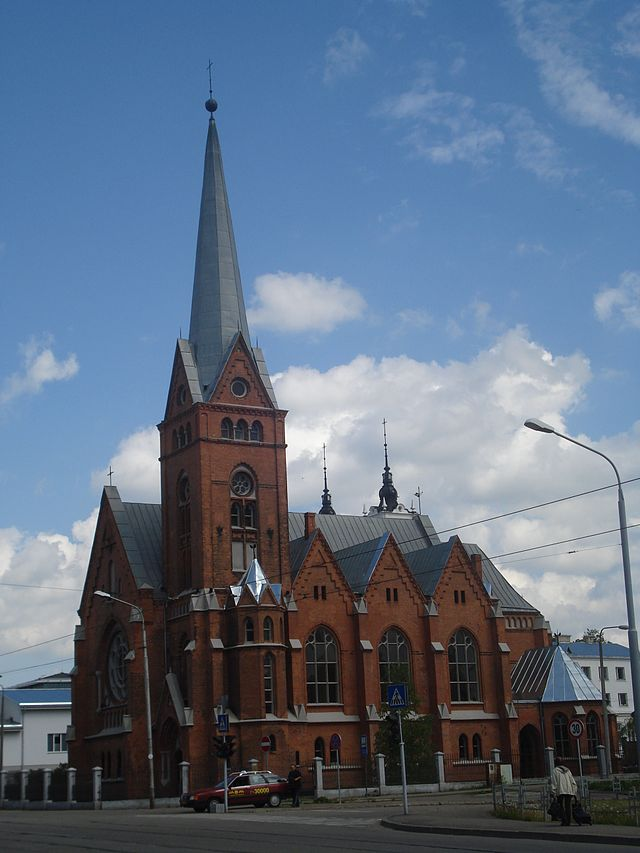 Martin Luther Cathedral  Daugavpils   Wikiwand Daugavpils Martin Luther Cathedral