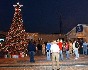 English: Bahrain (Dec. 6, 2004) - Sailors assi...