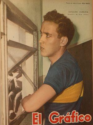 Osvaldo Zubeldía en Boca