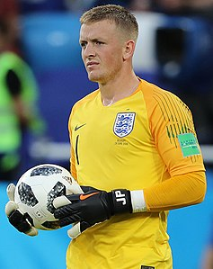 Jordan Pickford   Wikipedia Jordan Pickford 2018 jpg