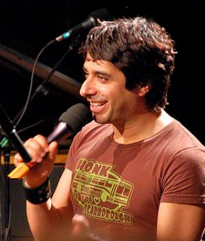 English: Jian Ghomeshi hosting a live taping o...