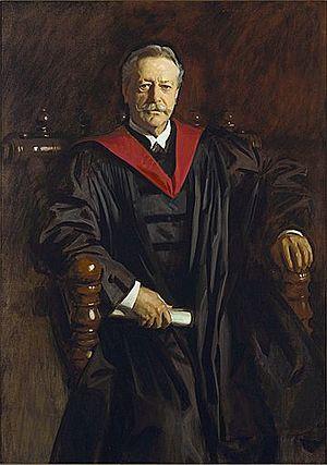 English: Abbott Lawrence Lowell, 1923, by John...