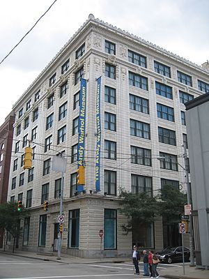 The Andy Warhol Museum in Pittsburgh, Pennsylv...