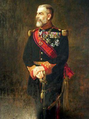 portrait of King Carol I of Romania by Mihail ...