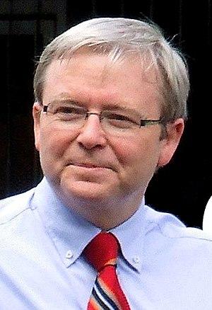 Federal Labor leader Kevin Rudd