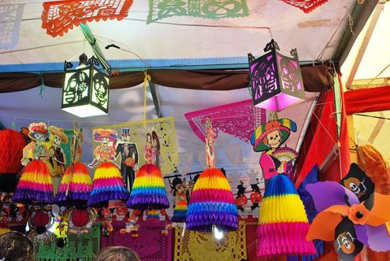 Day of the Dead Decorations for Sale in Mexico, Alejandro Linares Garcia
