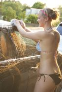 Bikini car wash.