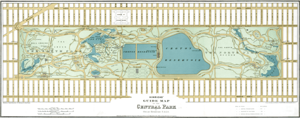 800px Central Park 1875 Restored A Brief History of Urbanism in North America: 1800s