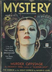 Cover of the pulp magazine Mystery (February 1...