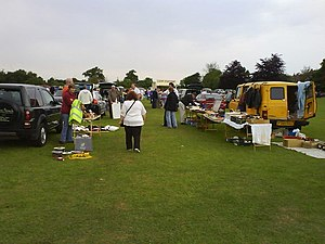 Stadhampton car boot sale