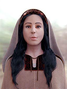 Saint Mary Magdalene - Digital facial reconstruction