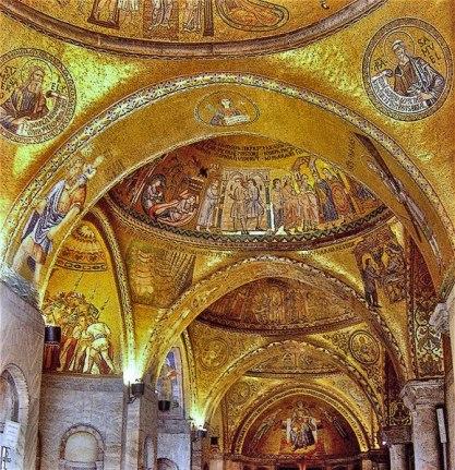 San Marco Basilica-interior mosiacs