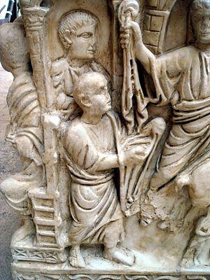 8719 - Roma, museo civiltà Romana - Sarcofago ...