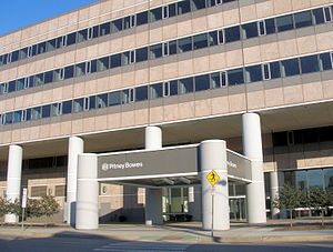 English: Pitney Bowes headquarters in Stamford.