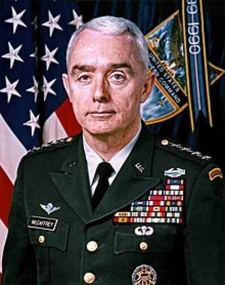 Image result for Retired four-star Gen. Barry McCaffrey