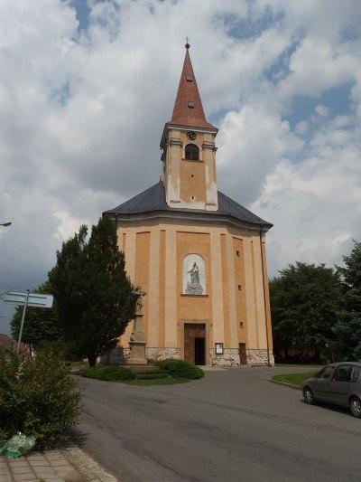 Římskokatolická farnost Všechovice – Wikipedie