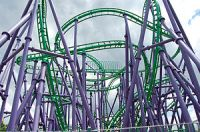 The Joker's Jinx at Six Flags America, Largo, ...