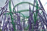 The Joker's Jinx at Six Flags America, Largo, ...