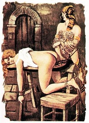 Image of spanking